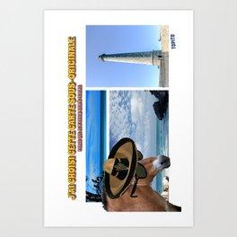 Carte Postale - Je n'avais rien à te dire Art Print
