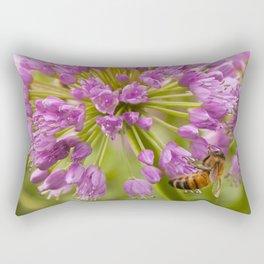 Honey Bee Mine Rectangular Pillow