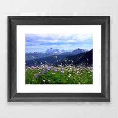 Alpine Meadow Framed Art Print
