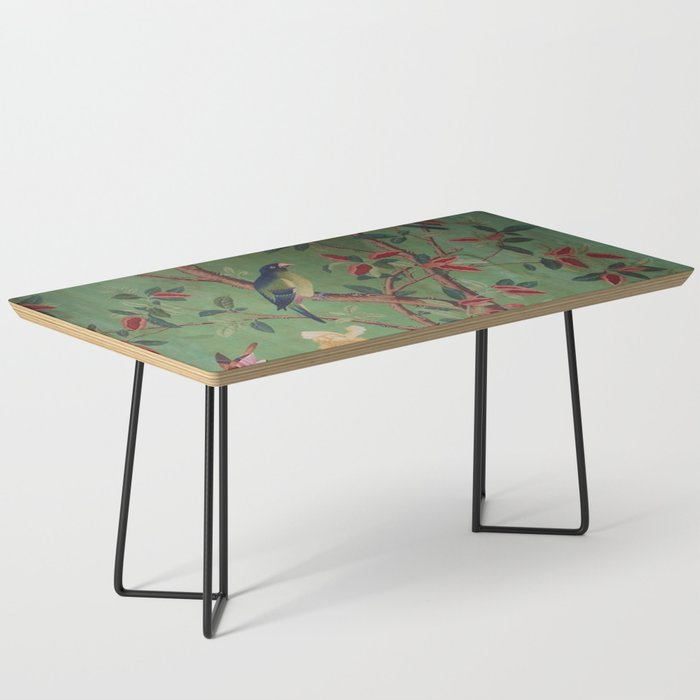 Green Dream Chinoiserie Coffee Table