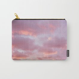 Unicorn Sunset Peach Skyscape Photography Carry-All Pouch