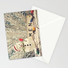 Snowmen Stationery Cards
