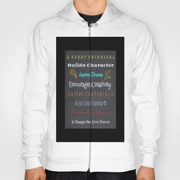 For A Great Principal Hoody