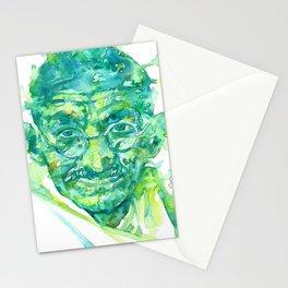 MAHATMA GANDHI portrait Stationery Cards