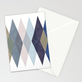 Not Your Father's Argyle Stationery Cards