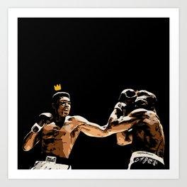 Ali Forever Art Print