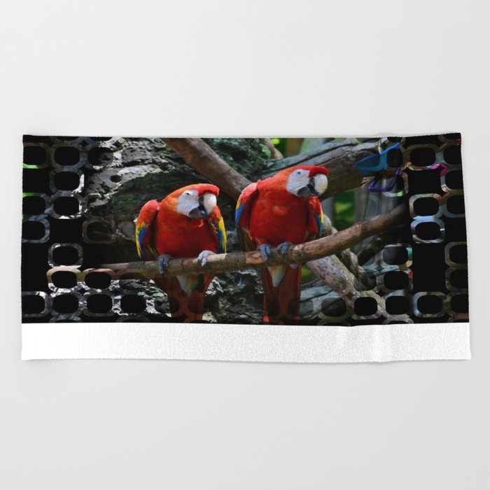 All About the Color Beach Towel