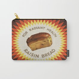 Vintage poster - Raisin bread Carry-All Pouch