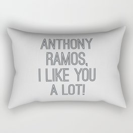 Anthony, I like you a lot Rectangular Pillow