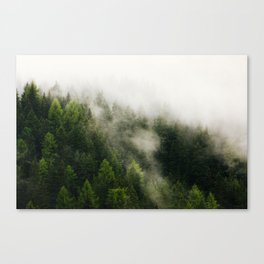 Val Gardena - The Fog Canvas Print
