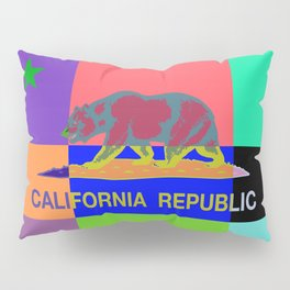 California Republic Abstract Colorful Pillow Sham