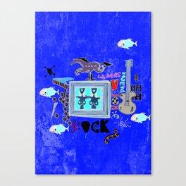 Rock and Fun Canvas Print
