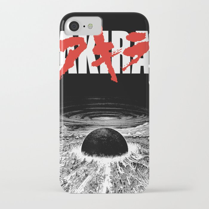 akira - neo tokyo is about to explode iphone case