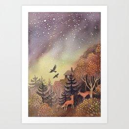 North Sky Art Print