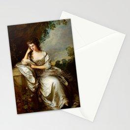 "Thomas Gainsborough ""Frances Browne, Mrs John Douglas at Waddesdon Manor"" Stationery Cards"