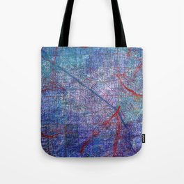 Chicago Texture Tote Bag