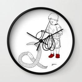 Worm Wrangler Wall Clock