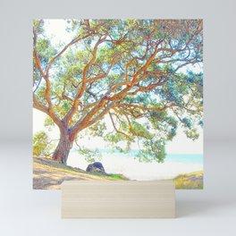 Summer time tree Mini Art Print