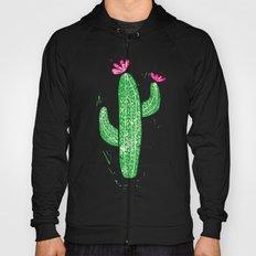 Linocut Cactus #2 Hoody
