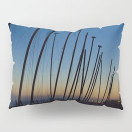 Boats in The Night Pillow Sham
