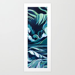 Northern Swell Art Print