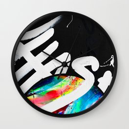 SEARCH - CHASER Wall Clock