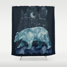 The Great Bear Shower Curtain