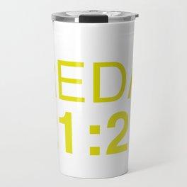 21:21 - isak and even - SKAM Travel Mug