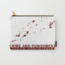 the classics .. blood splatter Carry-All Pouch