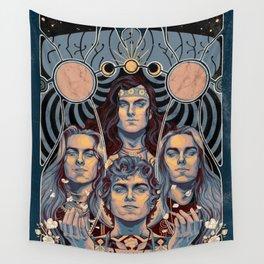 Greta Van Fleet Tour Poster Wall Tapestry
