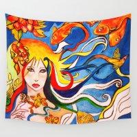 destiny Wall Tapestries featuring Destiny by Ming Myaskovsky
