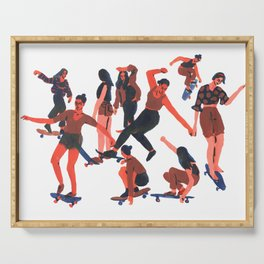 Skaters Serving Tray