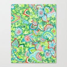 Sharpie Doodle Canvas Print