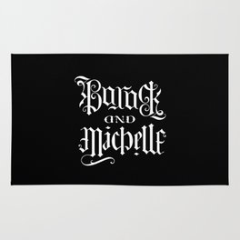 Barack and Michelle Rug