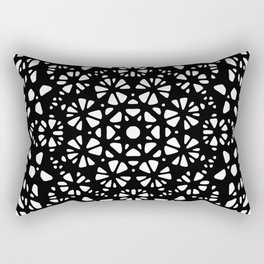 Octagonal mandala Rectangular Pillow