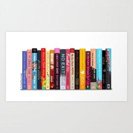 Book Stack No. 21 Art Print