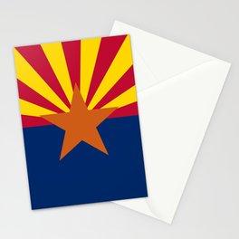 Arizona flag Stationery Cards