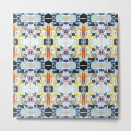 Architectural Tiles Metal Print
