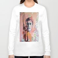 james franco Long Sleeve T-shirts featuring James Franco by Katarzyna Typek