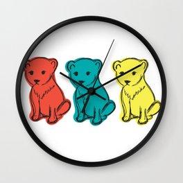 Little Lion Men Wall Clock