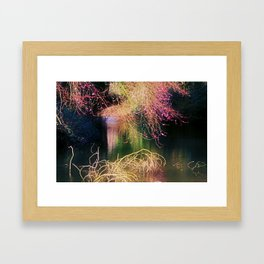 Magical Dreampath in Spring Framed Art Print
