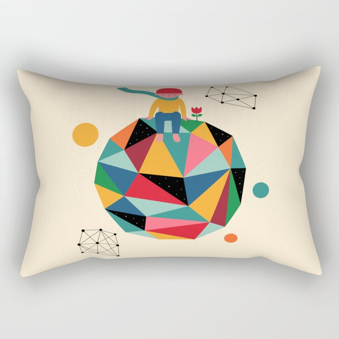 Lonely planet Rectangular Pillow