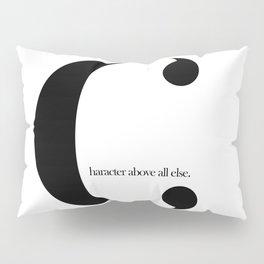 Minimal Editorial Typography Design Pillow Sham