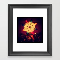A Little Christmas Cheer Framed Art Print