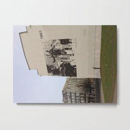 Berlin: Bernauer Straße Metal Print