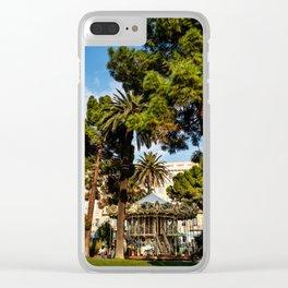Dream park, Nice France Clear iPhone Case