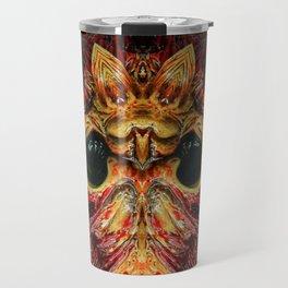 Halloween Mask 0214 Travel Mug