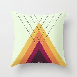 Iglu Vintage Throw Pillow