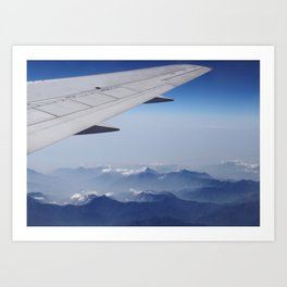 Taiwan's Central Mountains Art Print