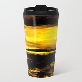 golden sunset Travel Mug